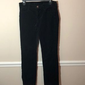 J. Crew City Fit Black Cords 28S